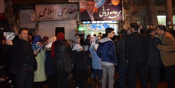 تنور انتخابات در سرمای بهمن داغ شد/ شور و هیجان انتخابات در مازندران به اوج رسید+ عکس و فیلم
