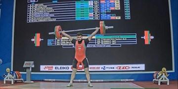 وزنه برداری نوجوانان و جوانان قهرمانی آسیا| طلای نوبرانه طاهری  در دسته 96 کیلوگرم جوانان