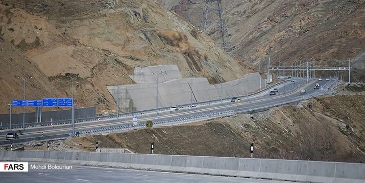 منطقه یک آزادراه تهران-شمال «ششم اسفند» افتتاح رسمی میشود