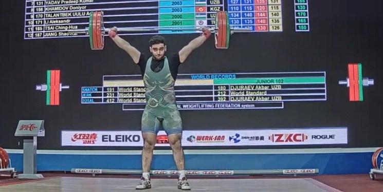 وزنه برداری نوجوانان و جوانان قهرمانی آسیا| عمادی و خاکپور نقره ای شدند