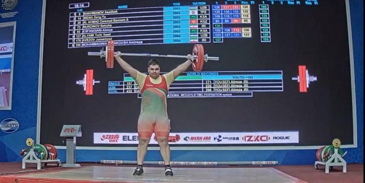 وزنه برداری نوجوانان و جوانان قهرمانی آسیا| طلا و نقره فوق سنگین نوجوانان به ایران رسید