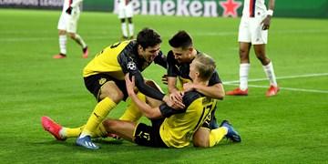 لیگ قهرمانان اروپا| پیروزی دورتموند مقابل پاریسیها با دبل هالند/شکست لیورپول در مادرید
