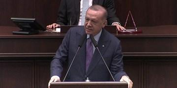 کنایه اردوغان به ماکرون؛ مانند بعضیها به دنبال عکس یادگاری در لبنان نیستیم