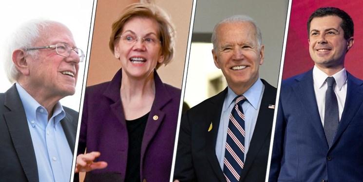 نظرسنجی| محبوبیت رو به افزایش سندرز و بلومبرگ در جمع دموکراتها