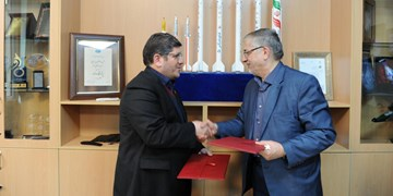 امضای تفاهم نامه همکاری مشترک میان دانشگاه علم و صنعت ایران و پژوهشگاه هوافضا