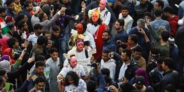 فیلم| تظاهرات هزاران نفری در هند در اعتراض به قانون جنجالی اعطای شهروندی