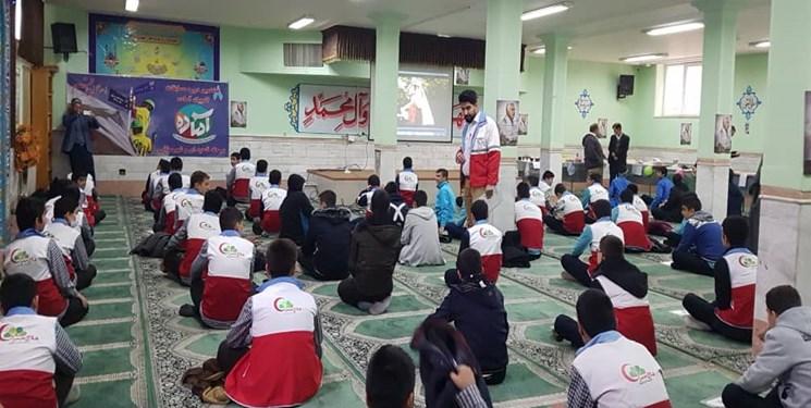 112 مدرسه در طرح ملی دادرس در قم شرکت کردند