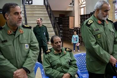 گرامیداشت سپهبد شهید قاسم سلیمانی در ستاد فرماندهی نیروی زمینی سپاه