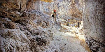 «کوهنمک»، بانمکترین جاذبه گردشگری در بوشهر+ عکسوفیلم