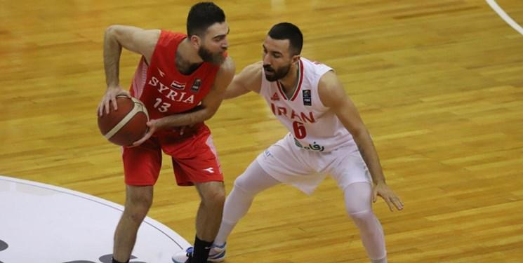 بسکتبال انتخابی کاپ آسیا| پیروزی آسان بلندقامتان ایران مقابل سوریه در گام نخست