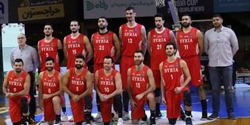 بسکتبال انتخابی کاپ آسیا| سرمربی سوریه: هدف ما در بازی مقابل ایران کسب اعتماد به نفس بود