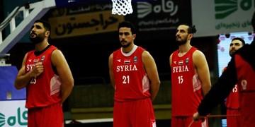 بسکتبال انتخابی کاپ آسیا| بازیکن سوریه: نباید از شکست مقابل ایران ناامید شویم