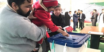 حضور باشکوه مردم شیعه و سنی سیستان و بلوچستان در انتخابات
