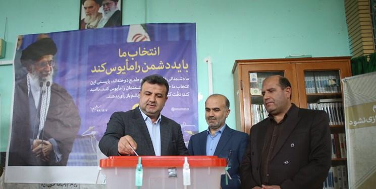 استاندار مازندران پس از شرکت در انتخابات: حضور مردم موجب سرافکندگی دشمن خواهد شد