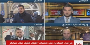 انتخابات | پخش زنده المیادین از چند مرکز أخذ رأی؛ مشارکت ساعت اول، بالاست