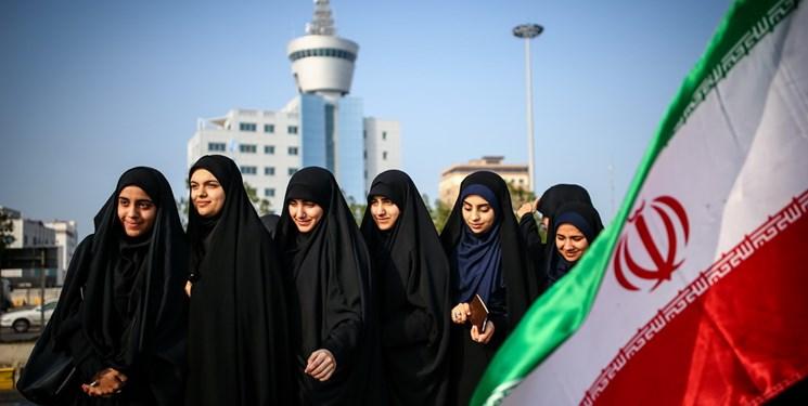 عکس/ شکوه انتخابات در کرانه خلیجفارس
