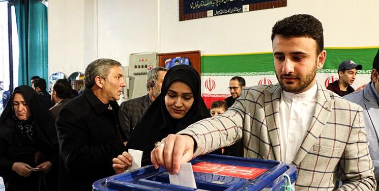 عکس| تجلی حضور انتخابات مجلس در اردبیل