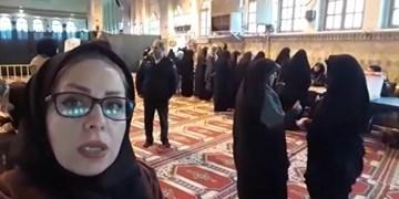 کمپین #سلفی_افتخار | اینجا مصلی نمازجمعه ساری شعبه اخذ رای
