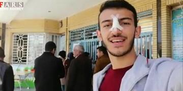 سلفی افتخار| انگیزه جوان شهرکردی برای حضور در انتخابات
