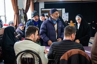 رای گیری انتخابات مجلس شورای اسلامی در دیار باکری
