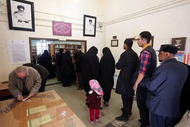 حضور مردم همدان در انتخابات مجلس
