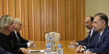 دیدار سفیر ایران با سخنگوی وزارت خارجه روسیه