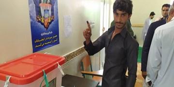 فیلم|شور وحال مناطق سیلزده در انتخابات