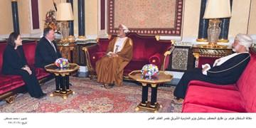 پامپئو، پیام ترامپ را تسلیم سلطان عمان کرد