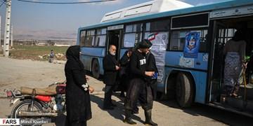 همراه اتوبوس انتخابات در «کوره فرنگی»
