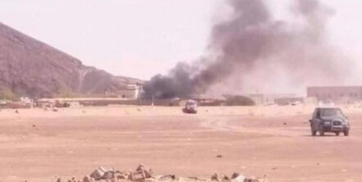 وزارت دفاع دولت هادی در مأرب بار دیگر هدف حمله  موشکی قرار گرفت