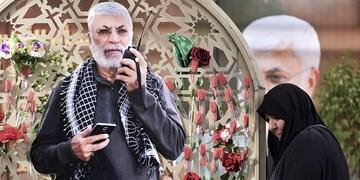 تصاویر| مزار شهید ابومهدی المهندس در وادی السلام