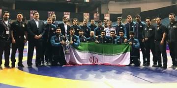 قهرمانی تیم ملی کشتی آزاد در آسیا با درخشش مازندرانیها