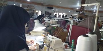 تولید روزانه ۲۰ هزار ماسک بهداشتی در رباط کریم