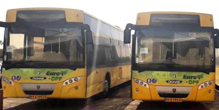 افزایش اتوبوسهای پایتخت در روزهای پایانی سال