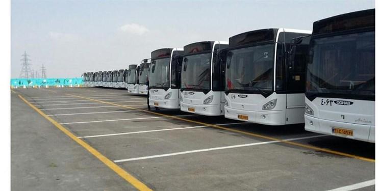 ورود 110 دستگاه اتوبوس و مینی بوس جدید به ناوگان اتوبوسرانی پایتخت