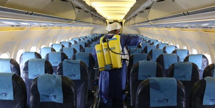 توقف 75 تا 100 درصدی پروازهای برخی فرودگاههای کشور به دلیل کرونا