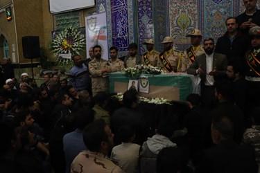 وداع با پیکر شهید «احمد توکلی»