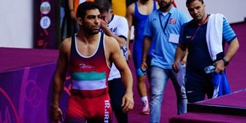 کشتی قهرمانی آسیا| حسین خانی نقره گرفت