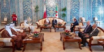 امیر قطر با رئیسجمهور الجزائر دیدار کرد