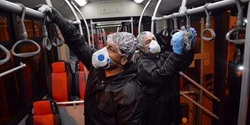 مراکز و خودروهای حمل و نقل عمومی بوشهر ضد عفونی میشوند