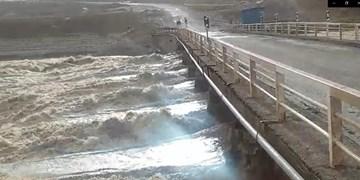 فیلم| وضعیت پل سودجان پس از بارشهای اخیر