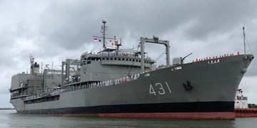 ناوگروه هفتادویکم نیروی دریایی ارتش به آبهای بینالمللی اعزام شد