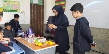 راهاندازی کلاس درس مجازی خانم معلم حقالتدریسی+ فیلم