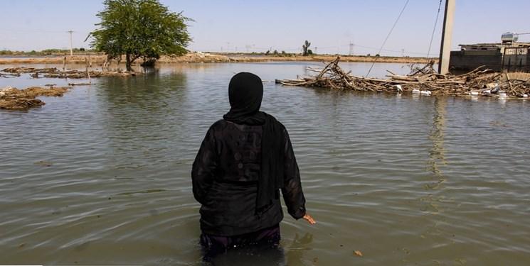 خوزستان، ایستاده در سیلاب