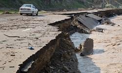 دو روز بارش سیلآسا در همدان/ از رانش زمین در نهاوند تا خسارت زیرساختی