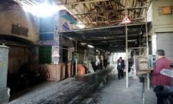 ساماندهی جداره های بازارچه نائبالسلطنه