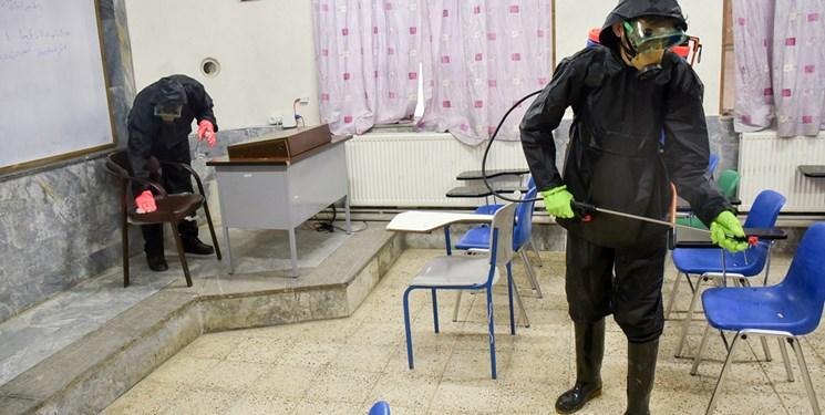 ضدعفونی ۹۴۵ مدرسه در همدان/ راهاندازی طرح «قلک کریمانه»