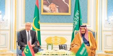 دیدار رؤسای جمهور الجزایر و موریتانی با مقامات سعودی