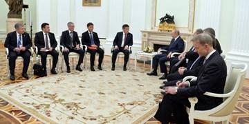 تأکید «پوتین» و «جین بیکاف» بر توسعه همکاریهای دو جانبه