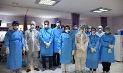 پیام ویدئویی کادر پزشکی بخش ویژه «بیماران کرونا» به اظهار لطف رهبر انقلاب